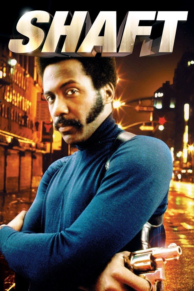 """Poster for the movie """"Shaft"""""""