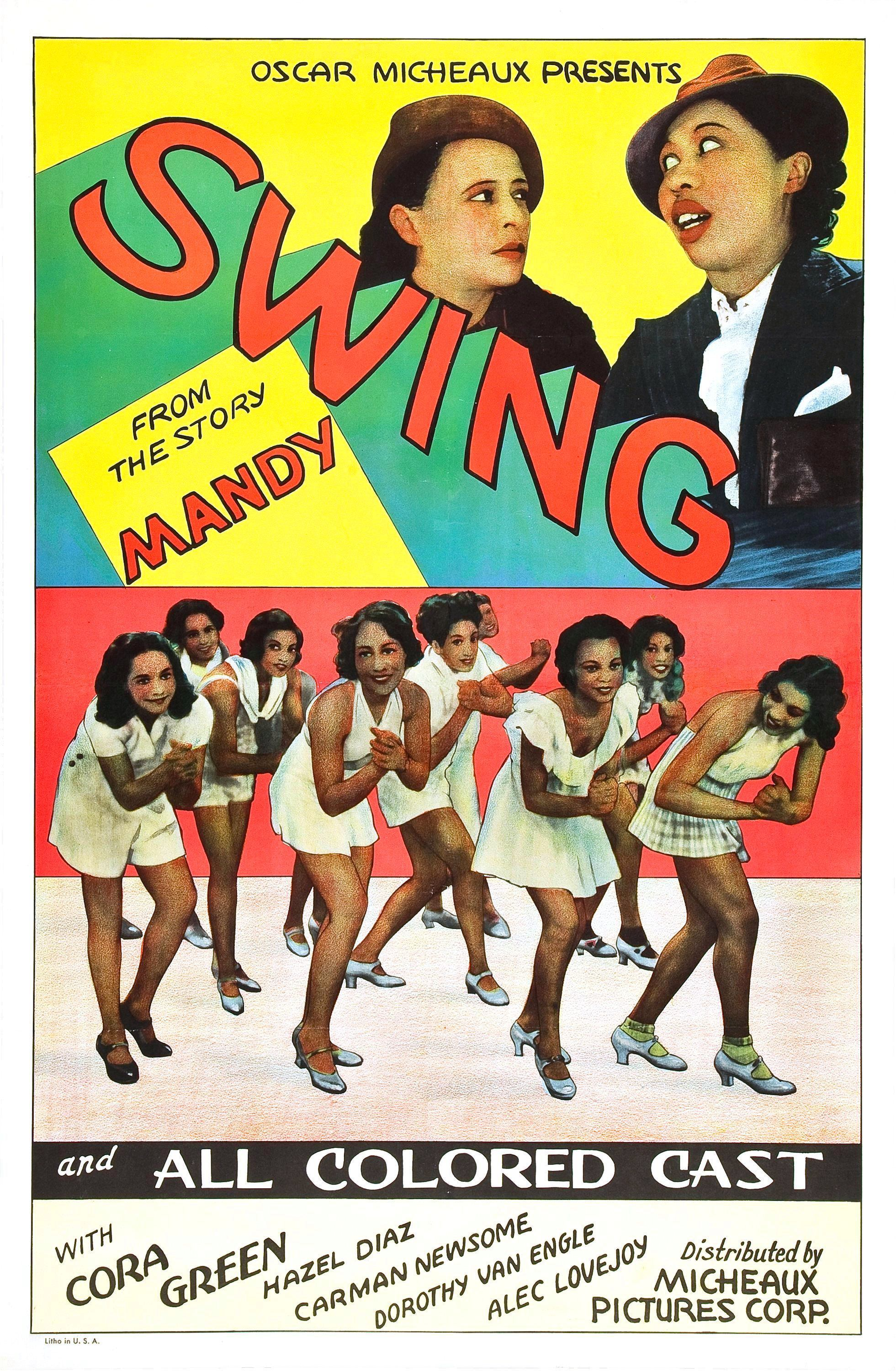 """Poster for the movie """"Swing!"""""""
