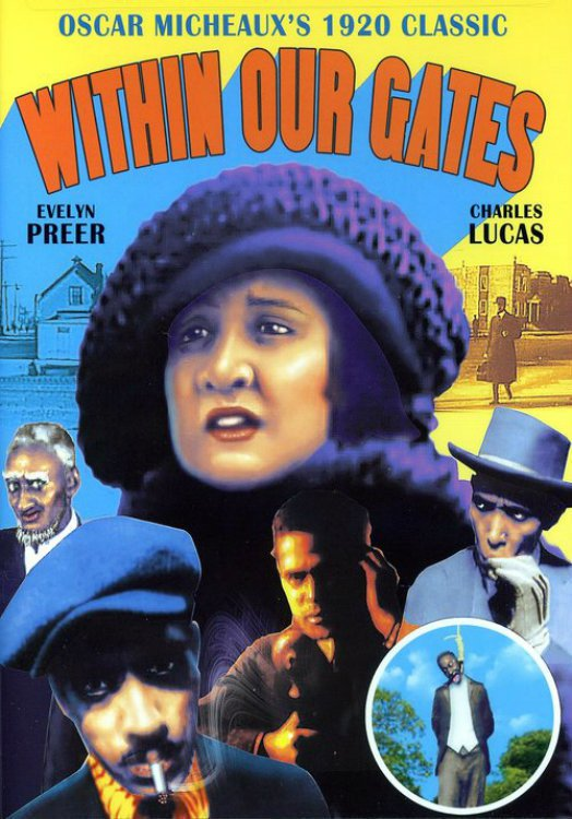 """Poster for the movie """"Within Our Gates"""""""