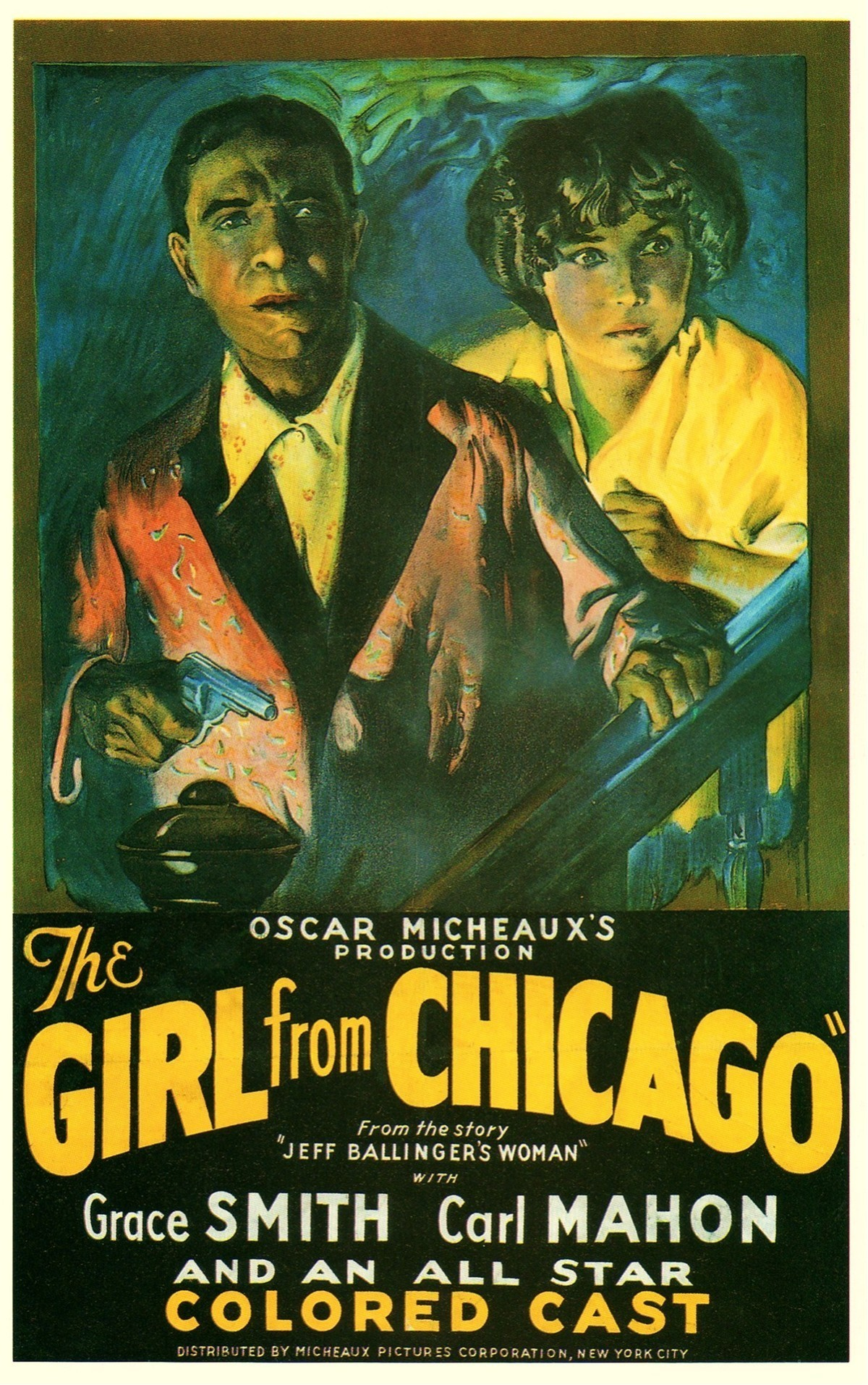 """Poster for the movie """"The Girl from Chicago"""""""